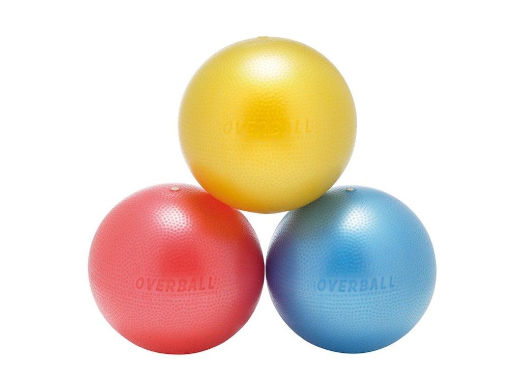 Softgym Overball - modrý 23 cm