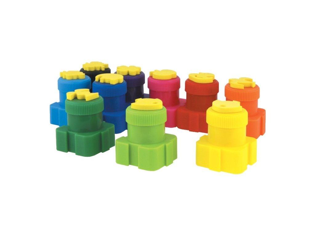 Colorino Prstové barvy - 5 barev
