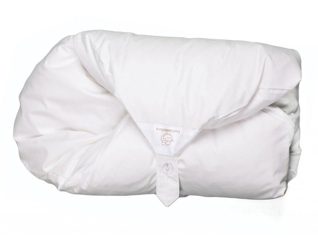 Povlak bílý jednobarevný (Malá peřinka bez volánku)