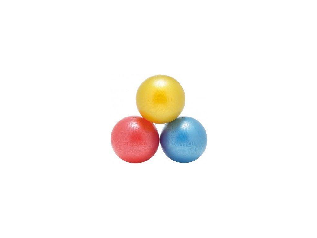 Softgym Overball - červený 23 cm
