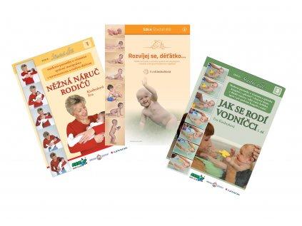 3 knihy Evy Kiedroňové