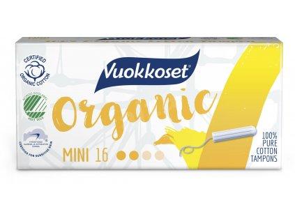 VUOKKOSET Organické tampony mini 16 ks