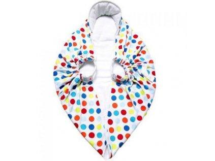 Snugglebundl Dětská multifunkční zavinovací deka Snugglebundl veselý puntík