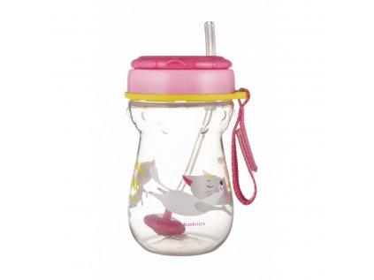 canpol babies hrnicek sportovni se slamkou a zavazim 350 ml