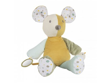 canpol babies hebky mazlicek s piskatkem mouse
