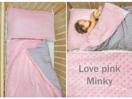 love pin minky small