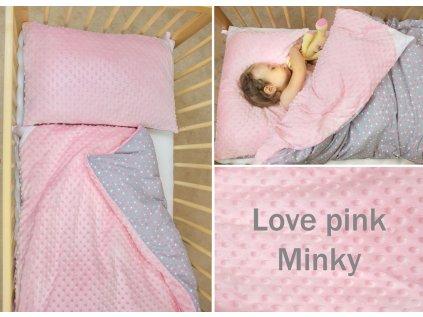 love pin minky small
