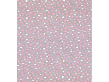 minky růžová polstař 60x40