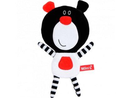Černobílý Medvídek Buu