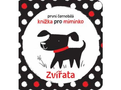 První Černobílá knížka pro miminko - Zvířata