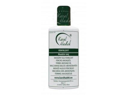 Fenyklový masážní olej 20ml