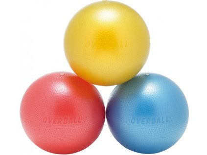 451 softgym overball zluty 23 cm
