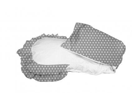 Povlak šedý s bílými hvězdičkami (Amerika)