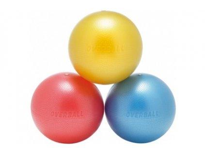 76 softgym overball cerveny 23 cm