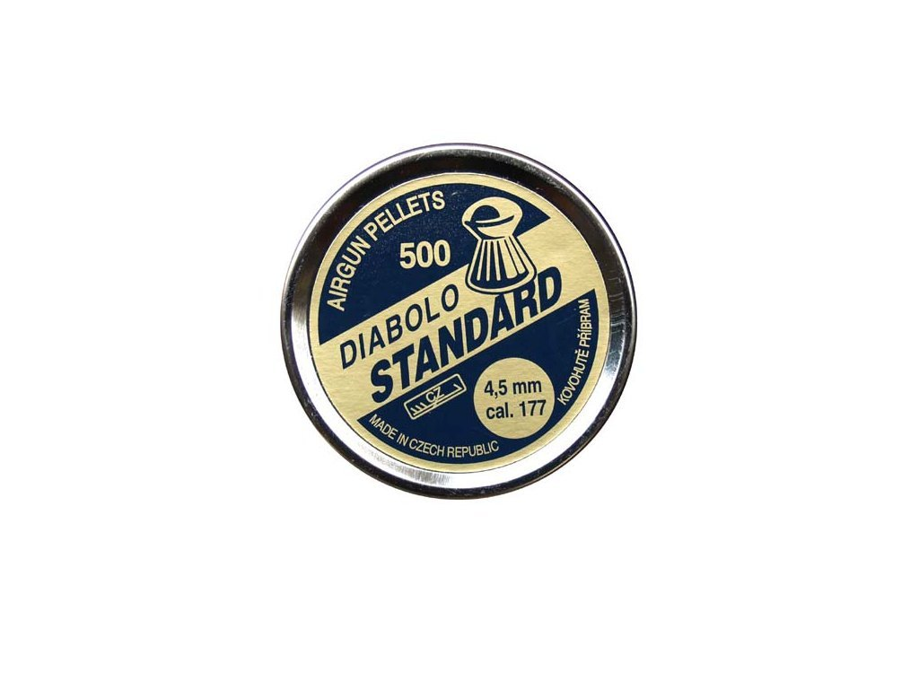 Diabolo Standard 4,5 mm Pellet 500 pcs