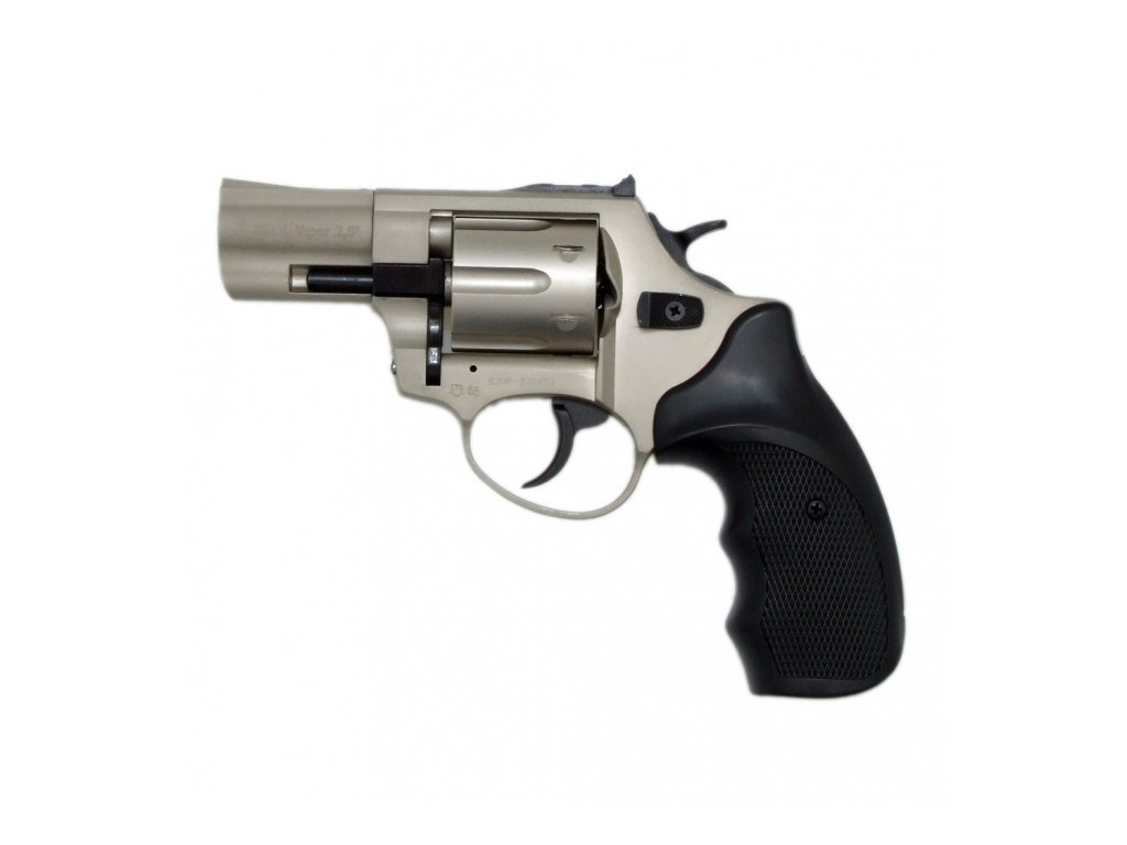 "Gas Revolver Ekol Viper 2,5"" nickel cal. 9mm"