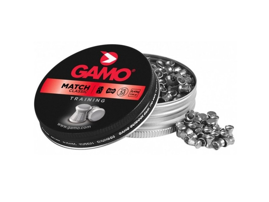 Gamo Match Diabolo 4,5 mm Pellet 500 pcs