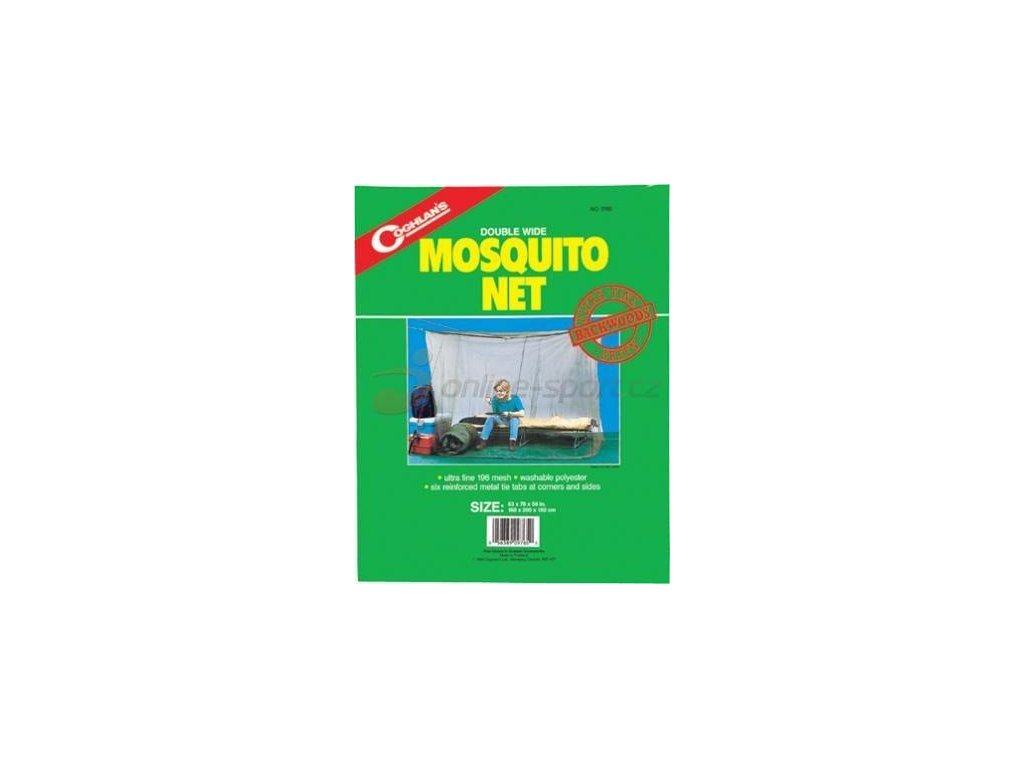 Coghlan's Mosquito Net for Two Beds