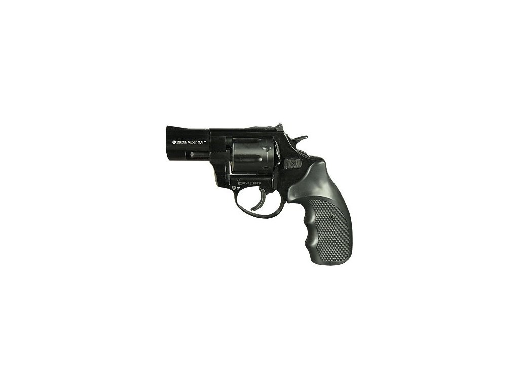 "Gas Revolver Ekol Viper 2,5"" black cal. 9mm"