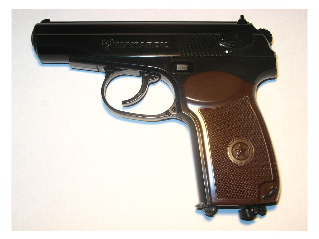 Makarov CO2 Gas Pistol cal. 4,5