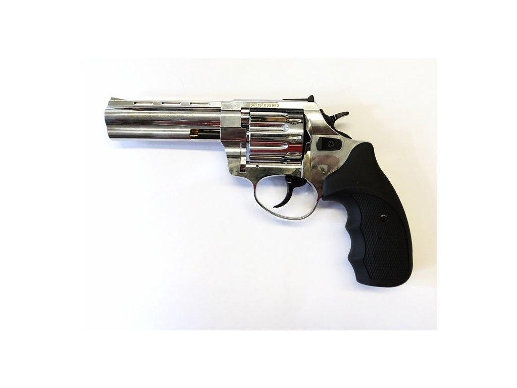 "Zoraki R1 4,5"" cal. 4mm Flobert Revolver - shiny chrome"
