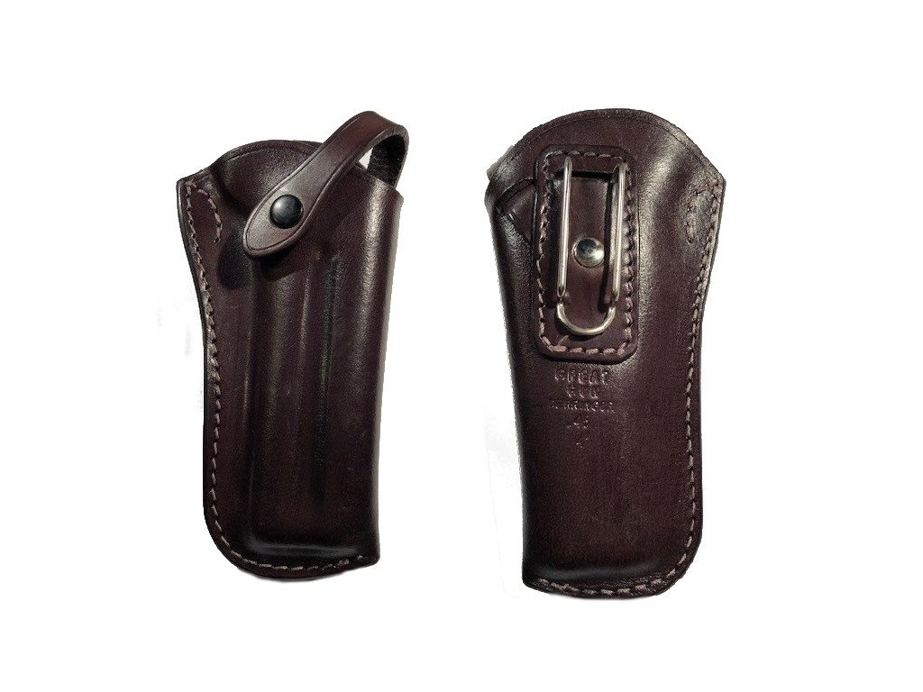 Great Gun Holster for Derringer Percussion with clip, sling