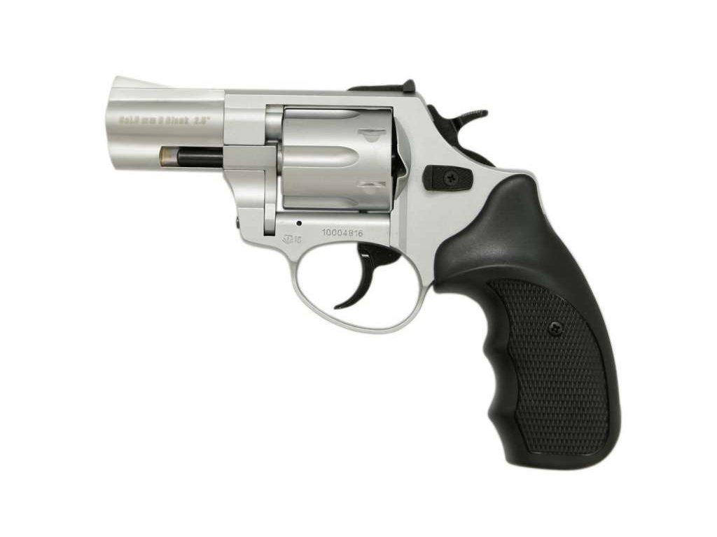"Zoraki R1 2,5"" cal. 4mm Flobert Revolver - matt chrome"
