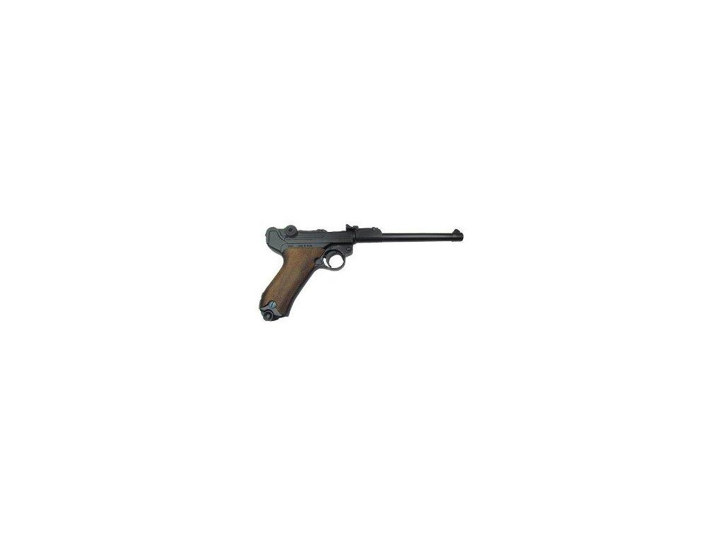 Parabellum 1898 Luger Pistol wooden grips