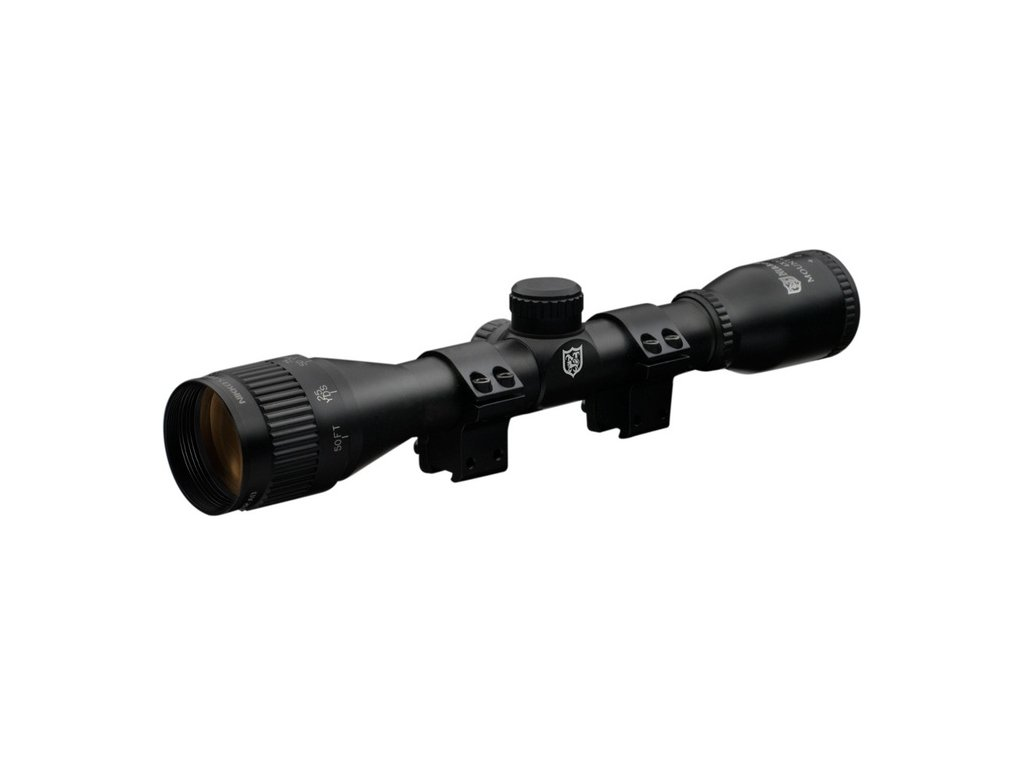 Nikko Stirling Mountmaster Illuminated 4x32 AO Rifle Scope