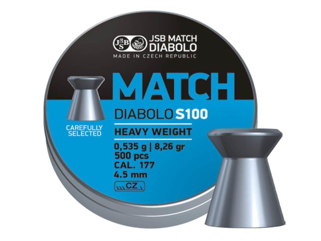 JSB Match Diabolo S100 4,51 mm Pellet