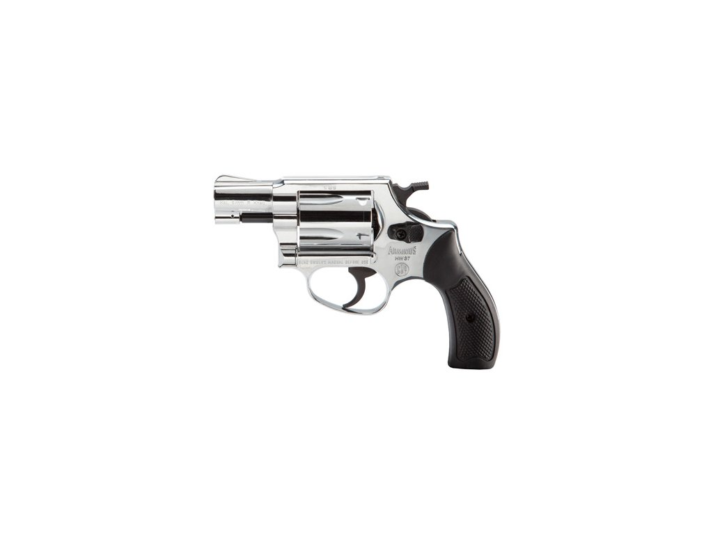 Gas Revolver Weihrauch HW37 nickel cal. 9mm