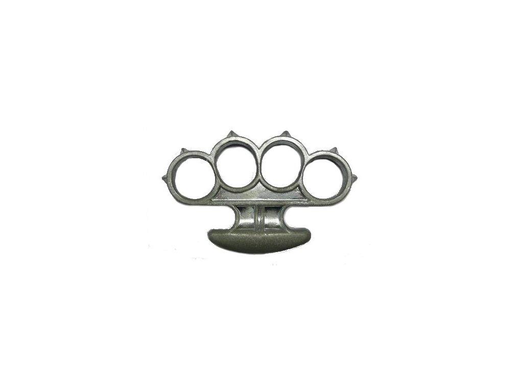 Brass Knuckles Silver