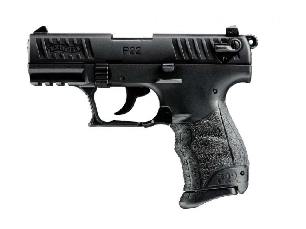 Gas Pistol Walther P22Q Black cal. 9mm