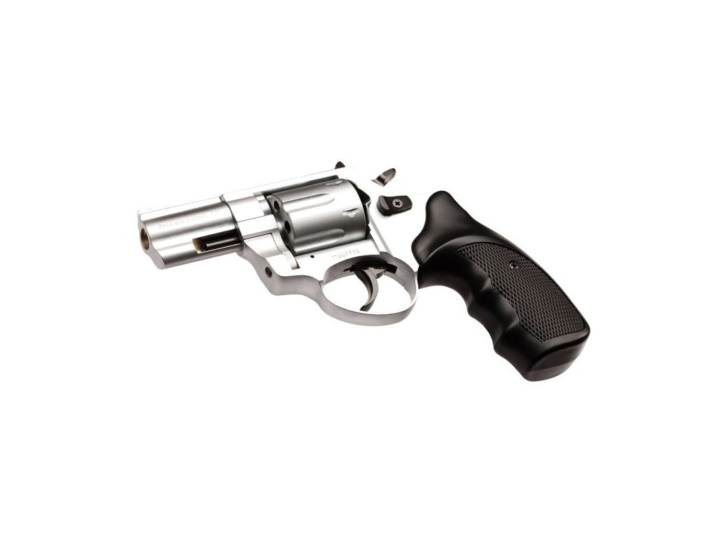 "Gas Revolver Atak Zoraki R1 2,5"" nickel cal. 9mm"