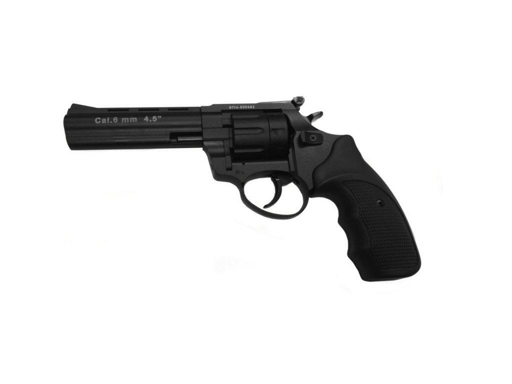 """Zoraki Streamer 4,5"""" cal. 6mm ME Flobert Revolver - black"""