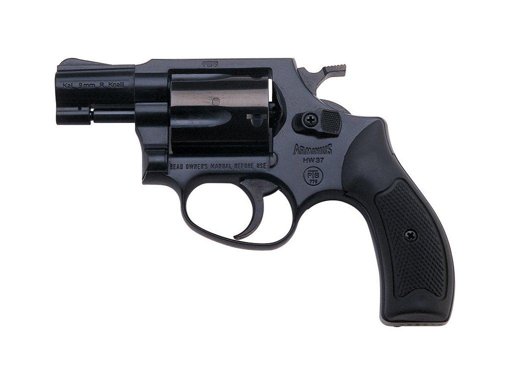 Gas Revolver Weihrauch HW37 black cal. 9mm
