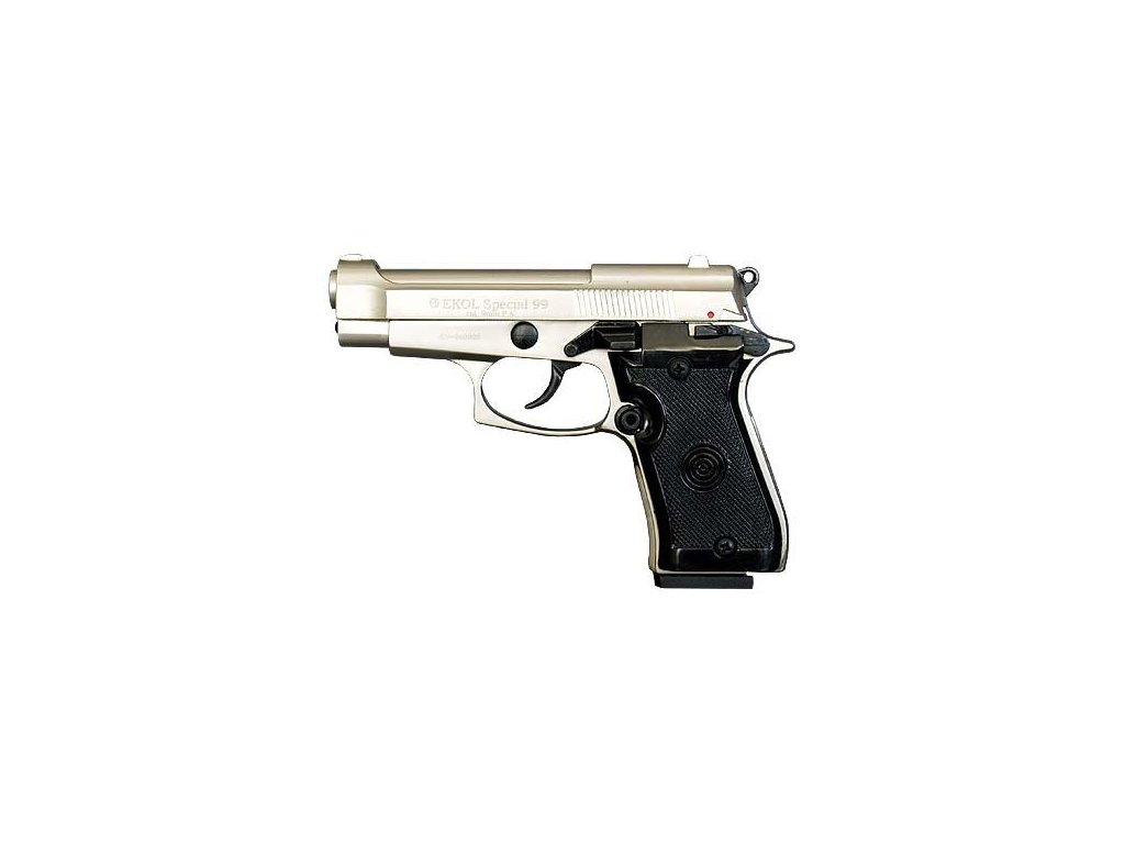 Gas Pistol Ekol P99 Special Nickel cal. 9mm