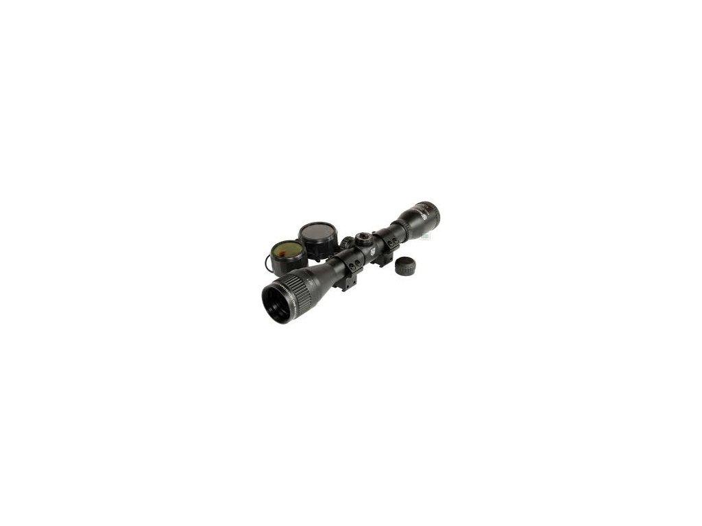 Nikko Stirling 6x40 AO Mountmaster Rifle Scope
