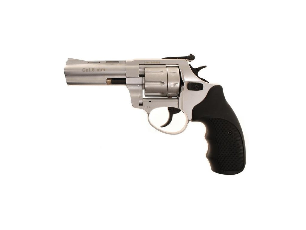"Zoraki Streamer 3"" cal. 6mm Flobert Revolver - matt chrome"