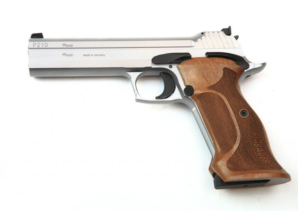 "Sig Sauer P210 Super Target Silver 5"" cal. 9mm Luger"