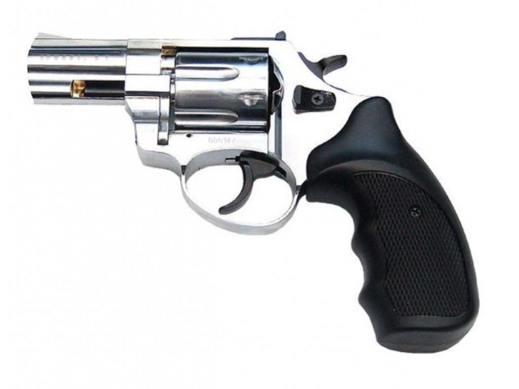 "Zoraki R1 2,5"" shiny chrome cal. 4mm Flobert Revolver"
