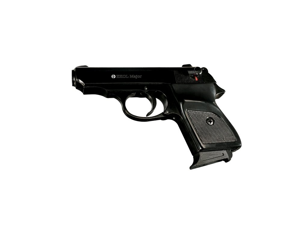 Gas Pistol Ekol Major Black cal. 9mm