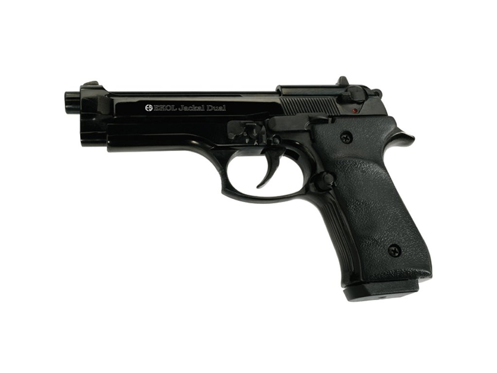 Gas Pistol Ekol Jackal Dual Black cal. 9mm
