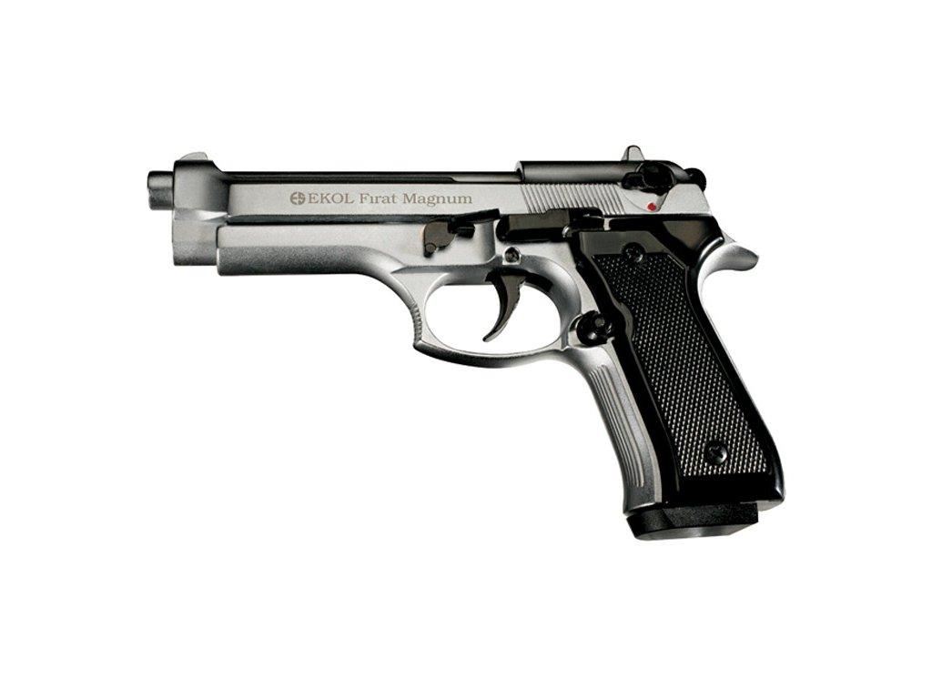Gas Pistol Ekol Firat 92 Nickel cal. 9mm