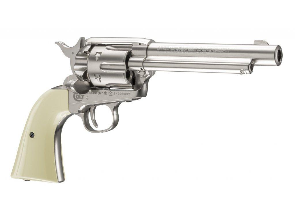 Colt Single Action Army SAA Air Revolver .45 nickel