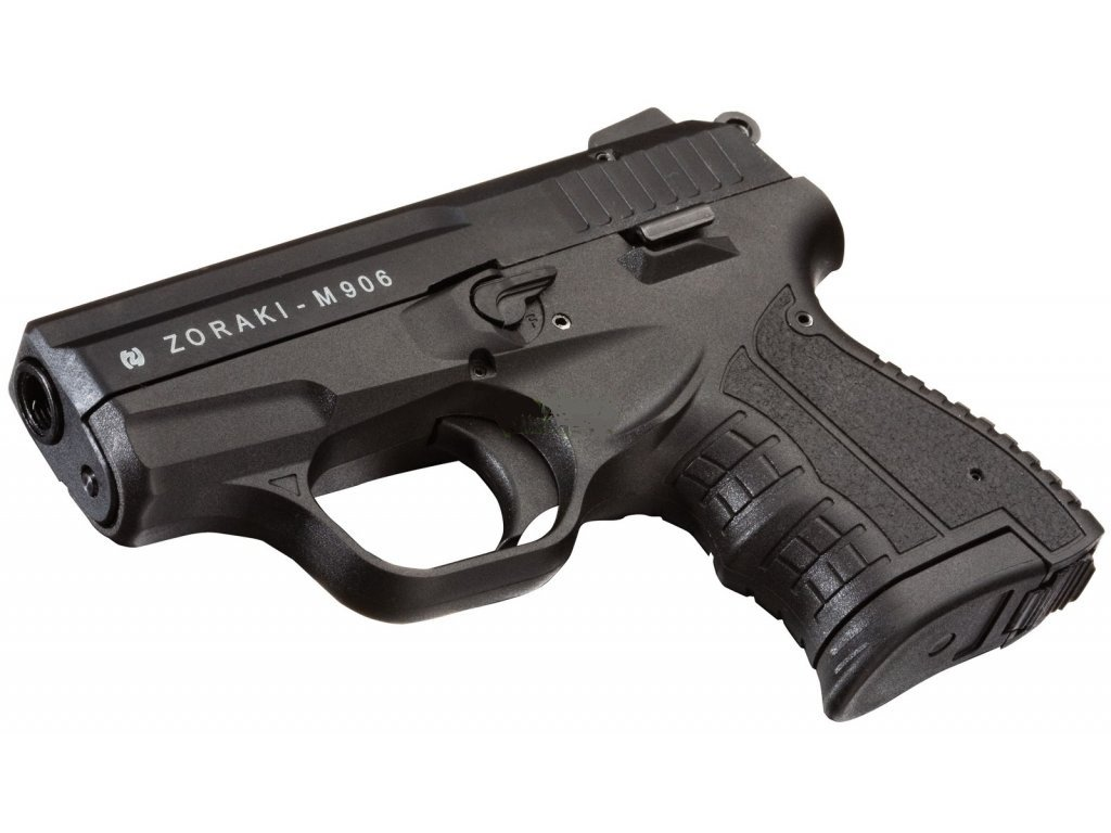 Gas Pistol Atak Zoraki 906 Black cal. 9mm