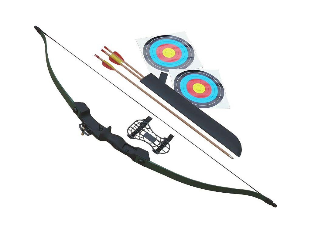 "Poe Lang Shiny Riser 48"" Archery Set"