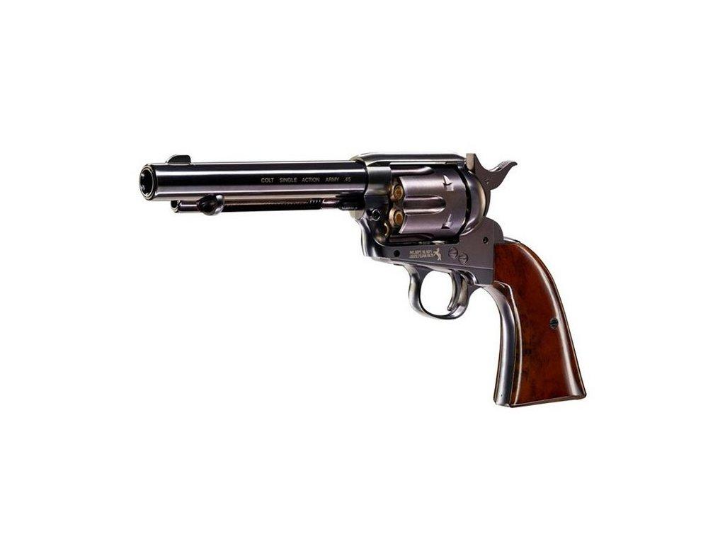 Colt Single Action Army SAA Air Revolver .45 černý