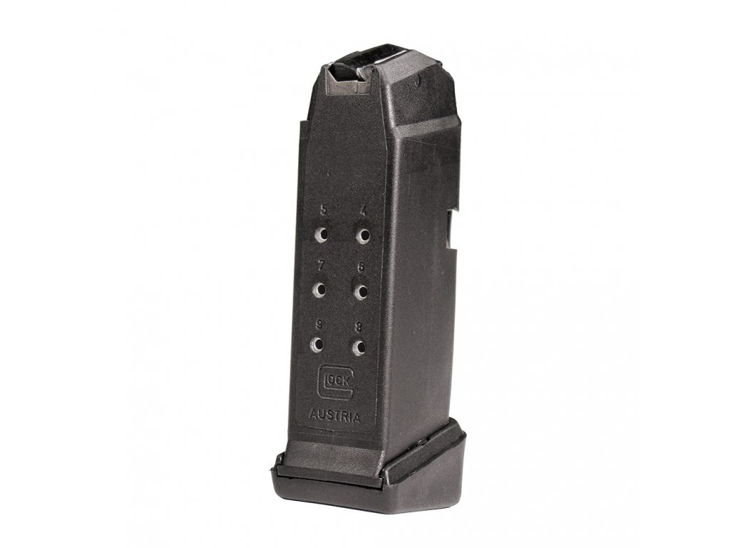 Glock 43 Magazine with Grip Extension