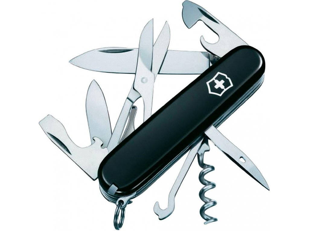 Victorinox Climber 1.3703.3 Folding Knife Black